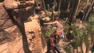 Rise of the Tomb Raider Full Gamescom 2015 Gameplay Demo