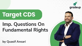 Target CDS: Important Questions on Fundamental Rights for CDS-(I) 2020
