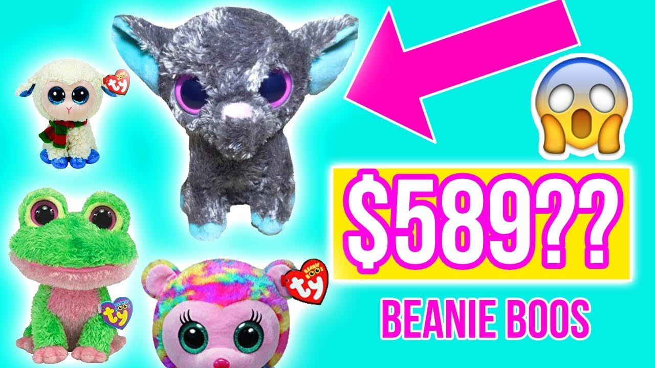 909e3396ee5 Top 10 most valuable beanie boos sold on ebay in 2018 - YouTube