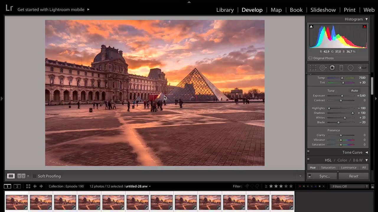 how to make crowds in photoshop