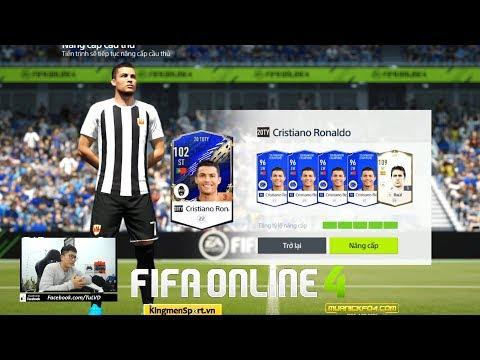 FIFA ONLINE 4: LÀM TÍ MỞ THẺ, ĐẬP THẺ, TRẢI NGHIỆM SINH NHẬT C. RONALDO 20TOTY...