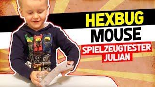😹 HexBUG Mouse SpielzeugTester - Julian