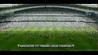 man city premier league champions 2012 highlights vs qpr part 1 of 2 highlights and celebrations