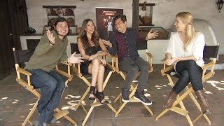 Repeat youtube video Pili Montilla Interviews the Cast of