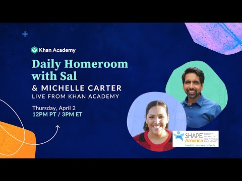 Daily Homeroom With Sal: Thursday, April 2