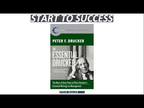 The Essential Drucker Essential Writings On Management By Peter Drucker