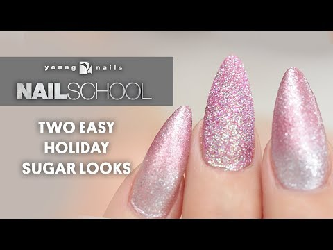 TWO EASY HOLIDAY SUGAR LOOKS