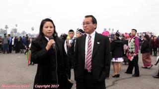 Txiv Nraug liab Cuam & Npuj Npaim Yaj Hais Kwv Txhiaj Hauv Fresno Hmong New year 2017