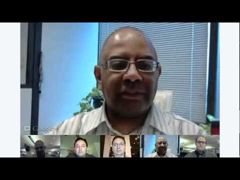 Google Hangout: AP and the NBA Playoffs