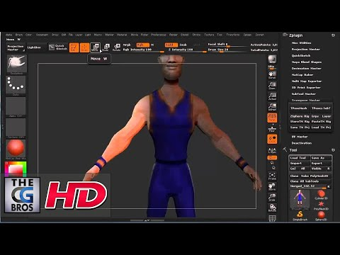 "CGI 3D Tutorial : ""Using Transpose Master in ZBrush"" - by 3dmotive"