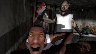 La abuela Horror vs Slendrina vs GTA CJ animación divertida la parte 2
