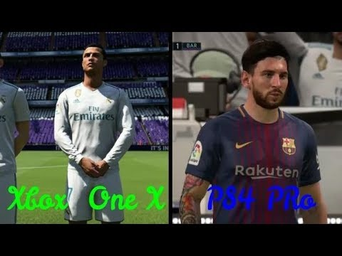 fifa 18 xbox one x vs ps4 pro graphics comparison 4k hdr youtube. Black Bedroom Furniture Sets. Home Design Ideas