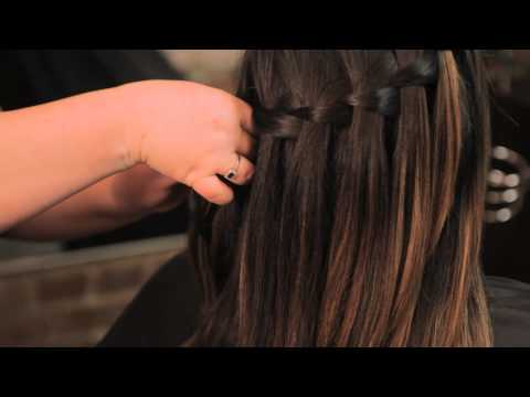 How to Do a Waterfall Braid on Someone Else