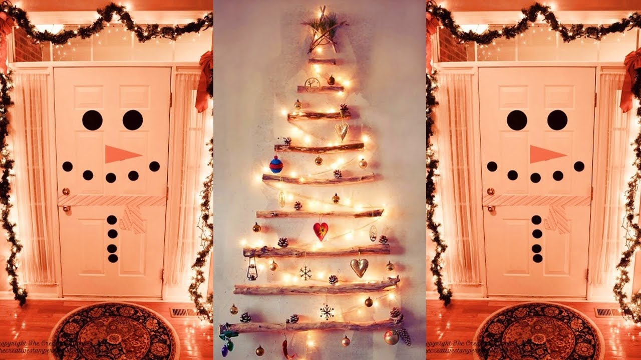 Merry christmas 2015 decoraciones hermosas para estas for Arreglos navidenos para puertas 2016