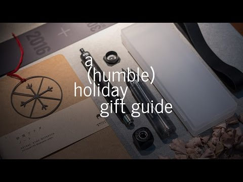 An Architect's (humble) Holiday Gift Guide