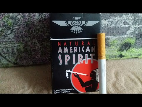 Обзор сигарет American Spirit Black USA