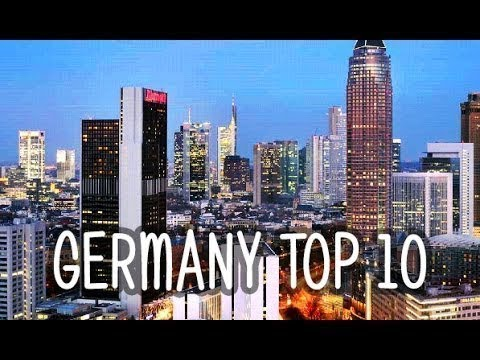 Top 10 rated tourist places attractions in Germany