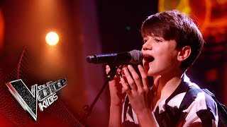 Sam Performs 'Father and Son' | The Semi Final | The Voice Kids UK 2019
