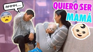 I WANT TO HAVE A BABY NOW! PRANKING MY BOYFRIEND  😱| CLAUDIPIA