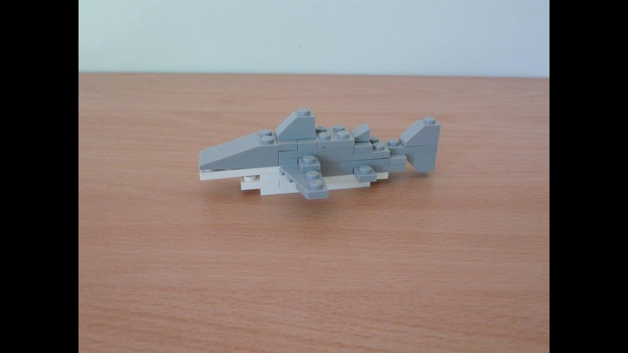 Lego 40045 Shark Promotional Monthly Mini Model Build Youtube