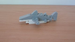 lego 40045 shark promotional mounthly mini model build
