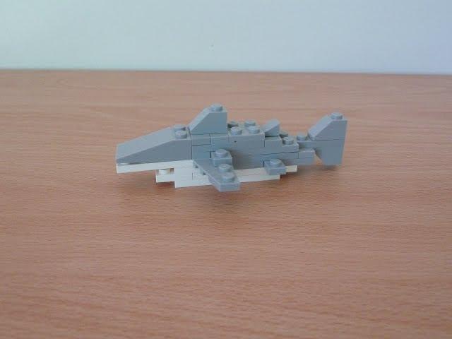 lego 40045 shark promotional monthly mini model build