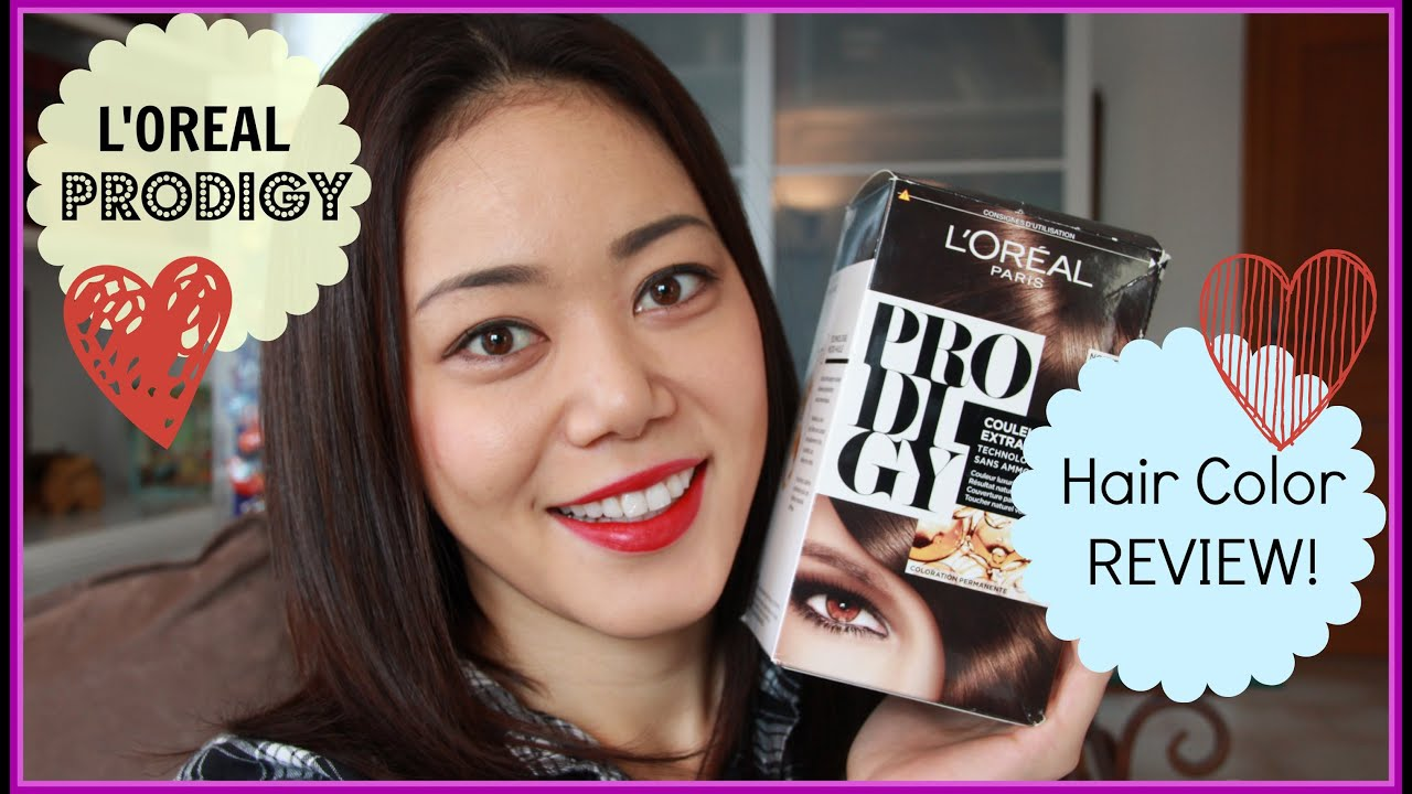 L Oreal Prodigy Color Review Youtube