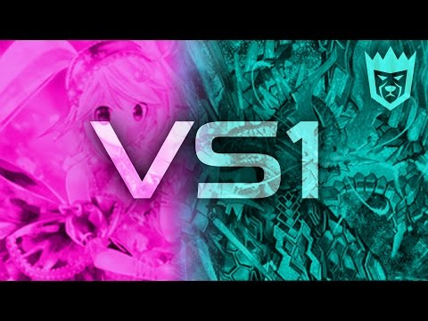 Bermuda Triangle Reit vs Aqua Force Maelstrom (Round 1) - Cardfight!! Vanguard