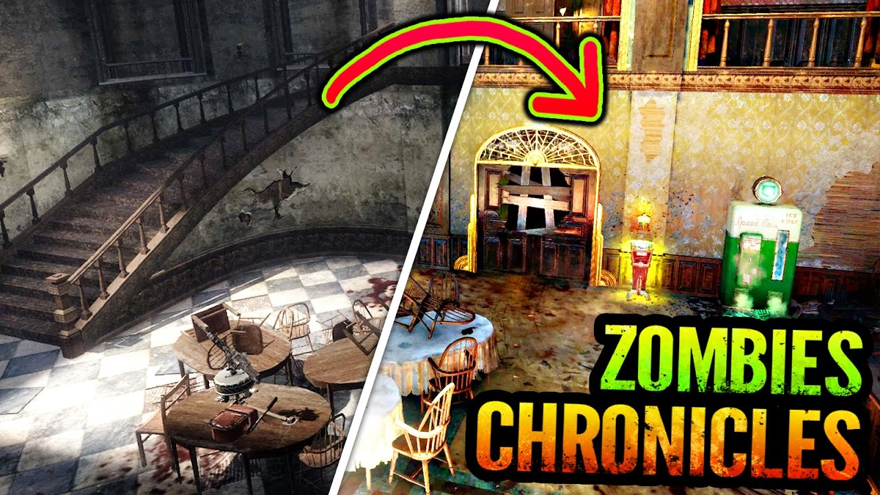 Bo3 Zombies Chronicles Kino Der Toten Gameplay Comparison Trailer