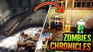 BO3 ZOMBIES CHRONICLES KINO DER TOTEN GAMEPLAY COMPARISON TRAILER (BO3 Zombies Chronicles Kino)