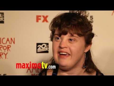 """Jamie Brewer Interview  """"American Horror Story"""" Premiere Screening"""