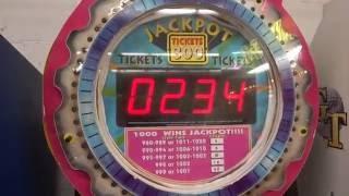 Stop the Clock at 1000 Arcade Game BIG WINNER :)