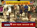 Villagers preparing crackers on occasion of Sital Sashti in Baku Panchayat,Puri | News18 Odia