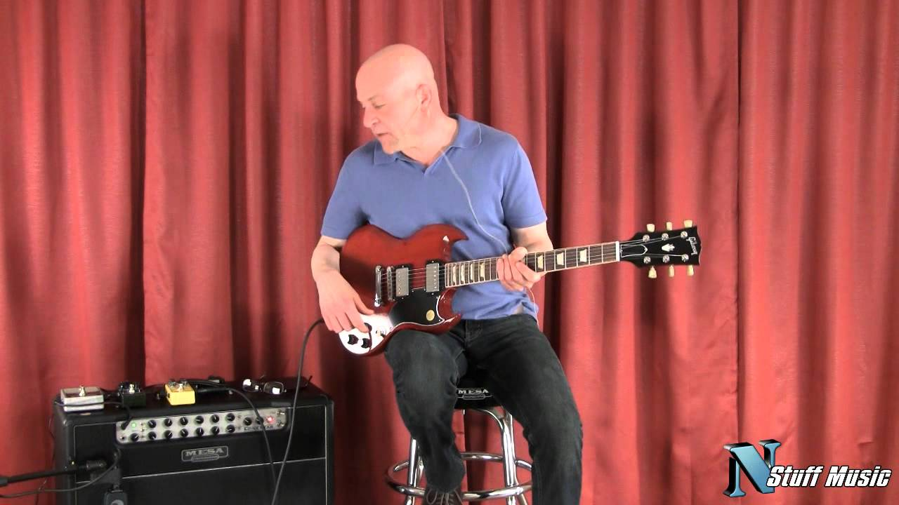 Gibson Sg 61 Reissue Electric Guitar Youtube Les Paul Wiring Diagram Besides Epiphone Jr