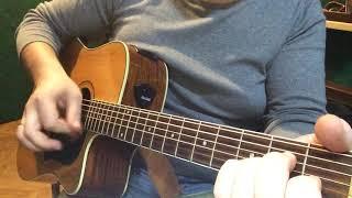 Хто є як Господь - урок на гітарі (фанк)