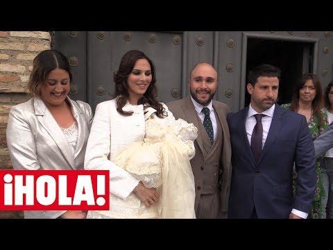 Así ha vivido la familia Pantoja y el resto de invitados el gran día de la pequeña Carlota