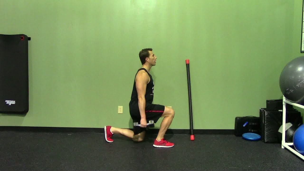 Lunges with dumbbells. Exercise technique, tips and tricks 38