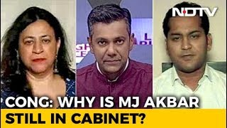 #MeToo: Why Was MJ Akbar Not Asked To Go?