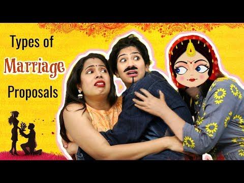 Types of MARRIAGE Proposals .. | #Fun #Sketch #Roleplay #Anaysa #ShrutiArjunAnand