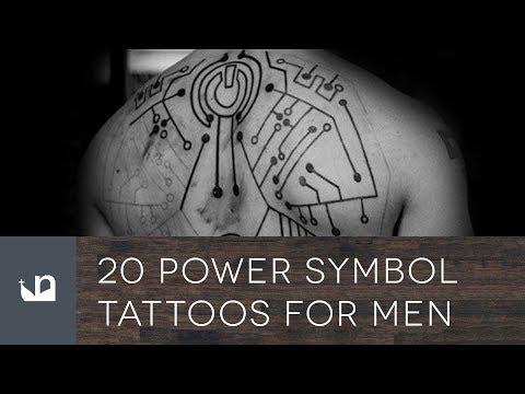 20 Power Symbol Tattoos For Men