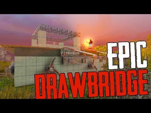BEST BASE EVER! - FIRST DRAWBRIDGE! - 7 Days to Die [Season 2 - #32]
