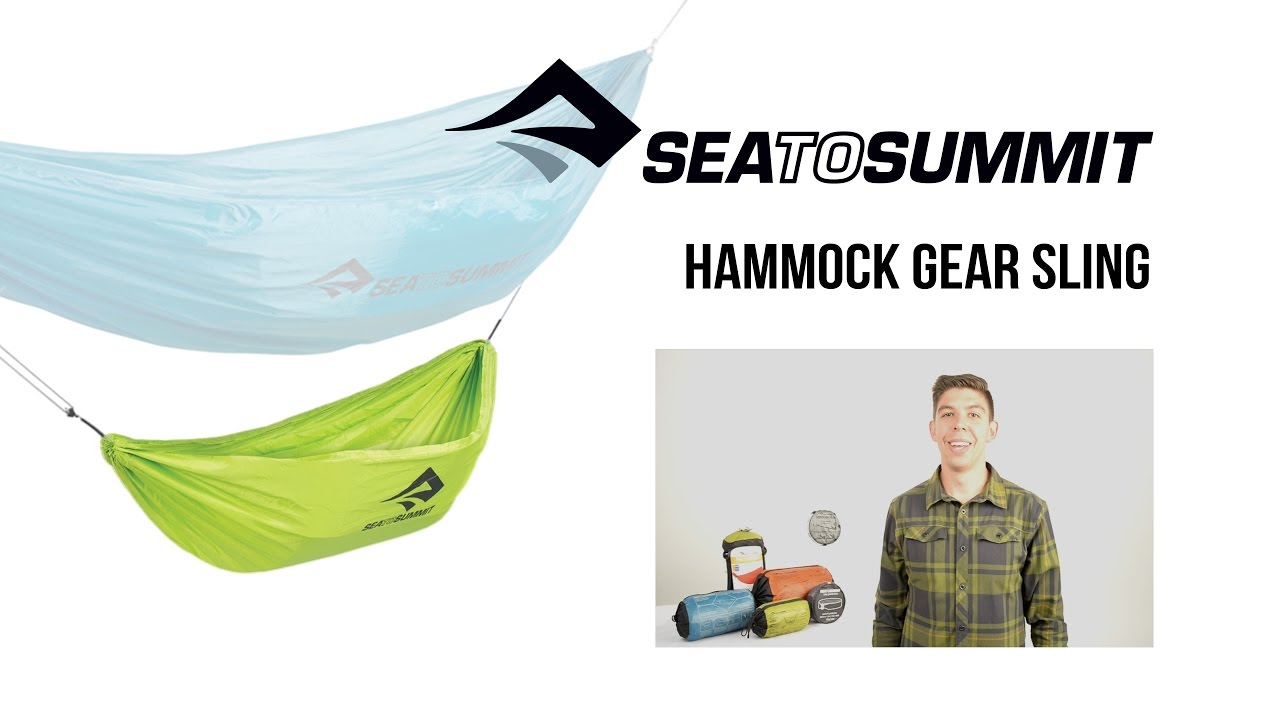 sea to summit hammock gear sling sea to summit hammock gear sling   youtube  rh   youtube