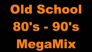 Old School 80s - 90s MegaMix - (DJ Paul S)