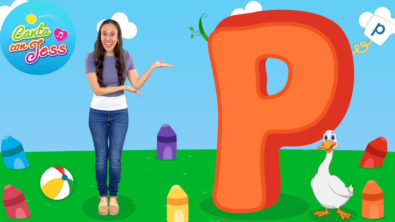 Letter P Song in Spanish - Letter Sounds by a Native Spanish Speaker | Spanish Alphabet Songs