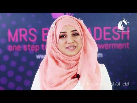 Maria Mrittik | Fashion Influencer | Beauty Adviser | Bio-Xin Mrs Bangladesh 2019