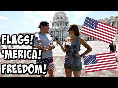 Germans Think Americans Are Too Patriotic!!