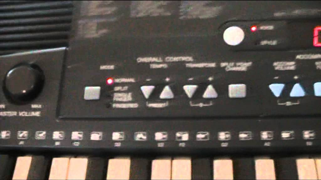yamaha psr 210 keyboard review part one youtube rh youtube com Yamaha PSR 200 Yamaha PSR 140