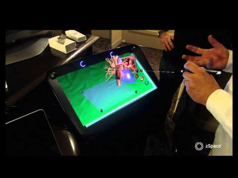 Demo: zSpace Immersive, 3D Display Technology at SC13