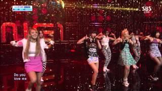 2NE1 - Do you Love Me 2013.08.11 Inkigayo 1080p