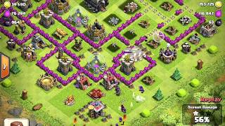 Clash of Clans - Giants n Healers - Lessons of War - 240 camp capacity